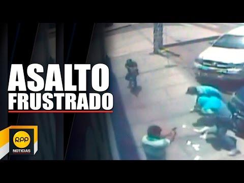 Delincuente murió baleado por los guardaespaldas de empresario