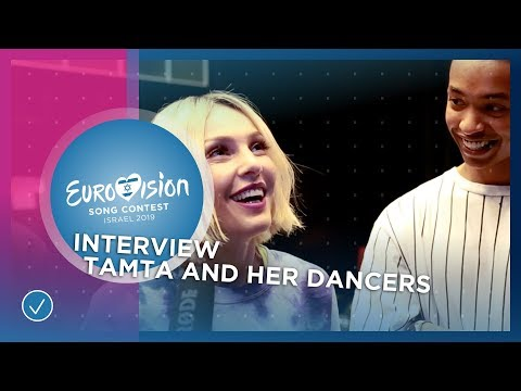 Tamta and her dancers show the first 'Replay' moves! - Cyprus ????????- 2019 Eurovision Song Contest