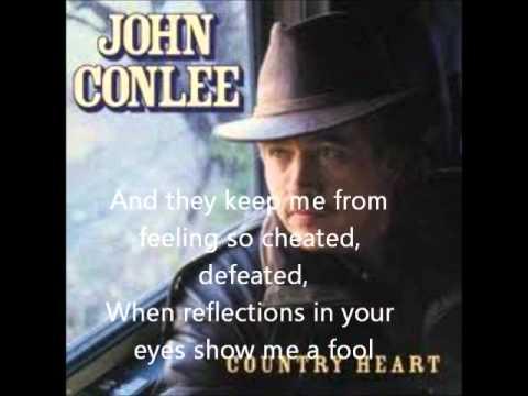 John Conlee-Rose Colored Glasses(With Lyrics)