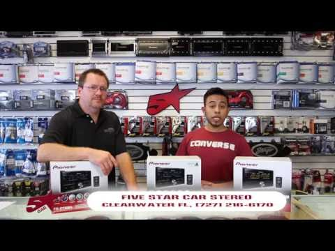 Pioneers new FH-X731BT. FH-X730BS. and FH-X830BHS unboxing