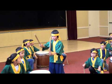 Carter Campos on Taiko Drums 5/2013