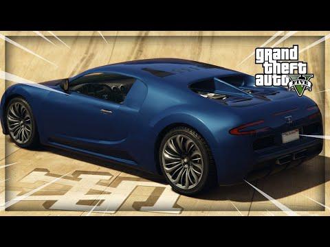 GTA 5 La Meilleure Voiture Gratuite // Adder 1 000 000 $ Buggati Veyron + Tuning Free