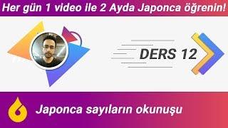 🇯🇵 Japonca Dersi 12/60: Japonca sayıların okunuşu