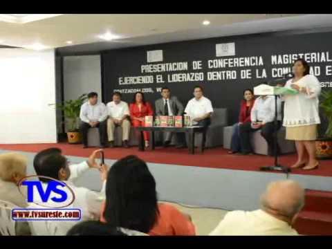 TVS Noticias.- En Coatzacoalcos Dictan Conferencia A Maestros Y Padres De Familia Sobre Liderazgo