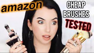 download lagu Amazon Makeup Brushes Tested Full Face Using Affordable Brush gratis
