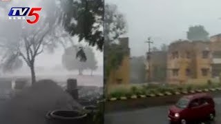 Heavy Rains with Thunderbolts in Telugu States