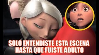 Top 8 ESCENAS De Películas PIXAR Que NO Son Totalmente INFANTILES!