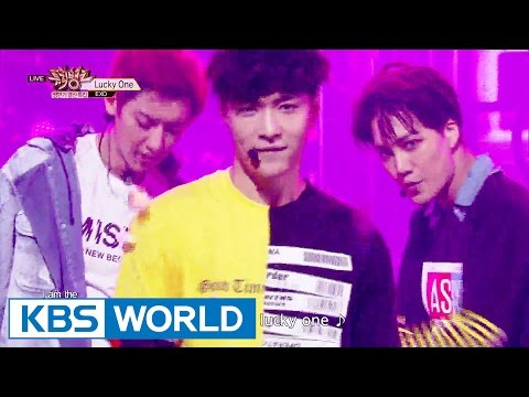 EXO - Love Me Right / Lucky One / Monster [Music Bank / 2016.06.24]