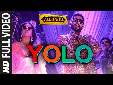 YOLO FULL VIDEO Song | ShreeRaamachaandra | All Is Well | Dr Zeus | T-Series