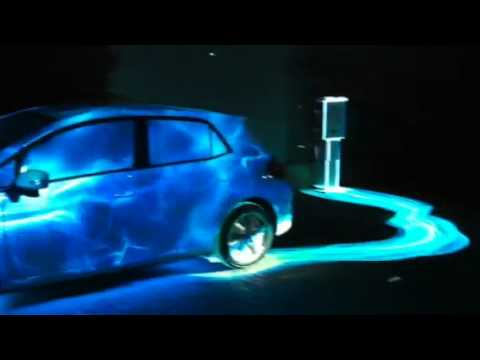 Toyota 3D Projection Mapping Ad Shoot