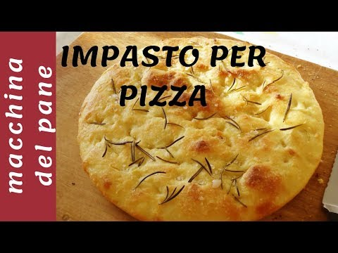 pizza focaccia calorie