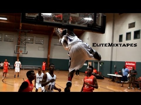 6'2 Kwe'Shaun Parker Has TOO MUCH Bounce!! Most Athletic Freshman in the Nation?