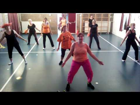 Dance For 1 Goal -- Waka Waka -- Zumba Class Driewegen 2 Netherlands Edition 2 video
