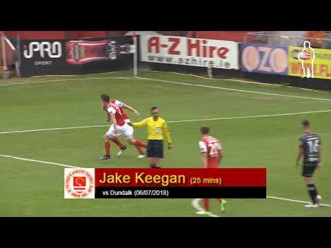 Goal: Jake Keegan (vs Dundalk 06/07/2018)