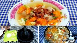 Resep & Cara Memasak Hidangan Sahur Sup Bakso