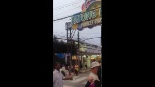 Phuket Patong Beach Main Square Guider- Thailand