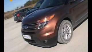 Новое поколение Ford Explorer тест-обзор Автолига (autoliga.tv)