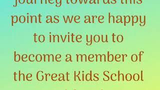 Welcome Great Kids Preschool