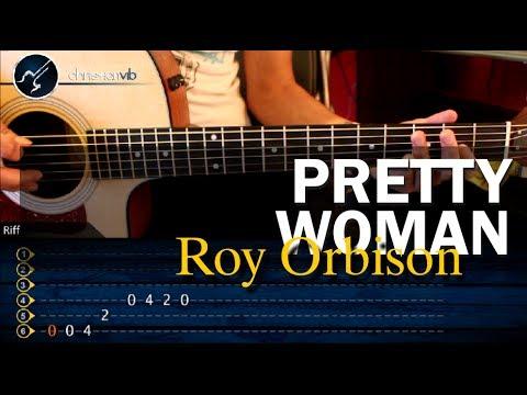 Como tocar PRETTY WOMAN Roy Orbison en guitarra Acustica HD Tutorial