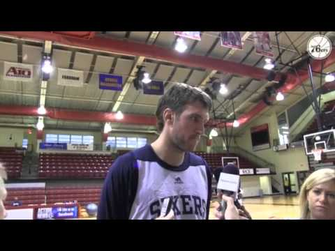 Spencer Hawes: Training Camp - Day One Interview
