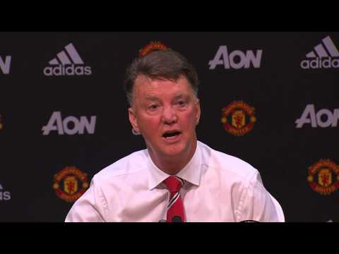 "Louis van Gaal sings The Beatles ""When I'm 64"" to celebrate birthday after beating Spurs 1-0"