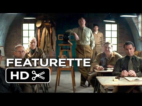 The Monuments Men Featurette - New Discoveries (2014) - George Clooney, Matt Damon Movie HD