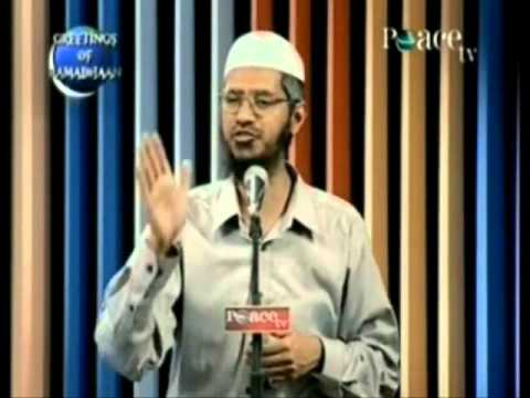 Salman And Shahrukh Khan Are Mushrik! Dr Zakir Naik video