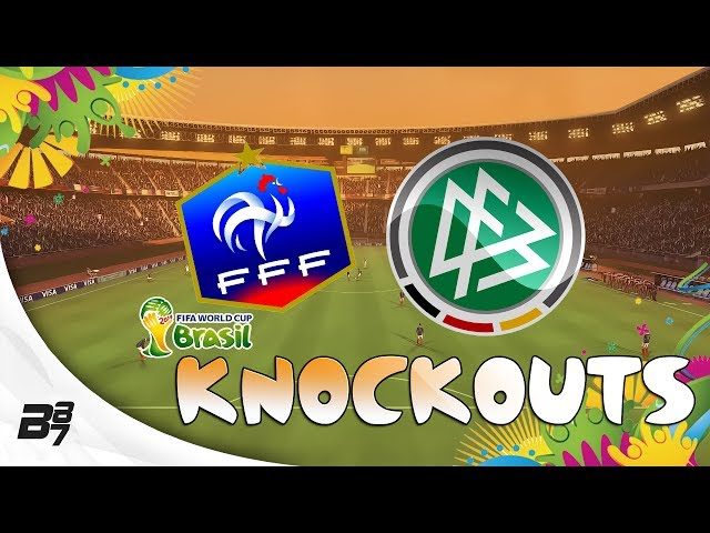 FIFA World Cup Brazil 2014 | Knockouts! France vs Germany
