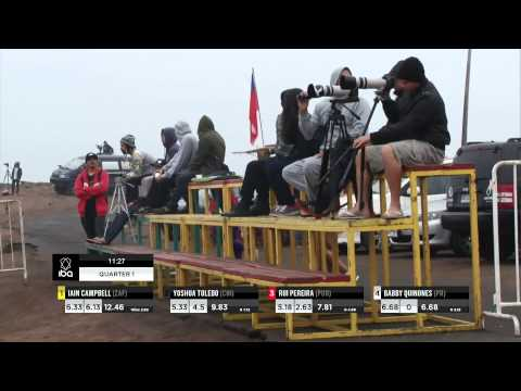2013 GoPro IBA Arica Chilean Challenge - Heats on Demand - Trials Quarter 1