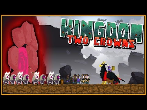 King Destroys Greed Cave (Shogun Campaign) - Kingdom Two Crowns Gameplay EP4