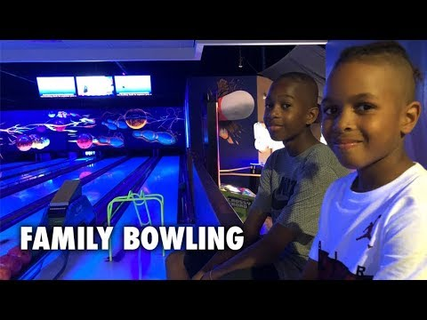 Family Bowling! We CAN'T Believe WHO WON!!