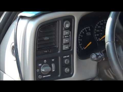 2000 Chevy Silverado 4WD transfer case switch repair