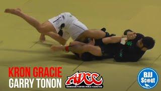 BJJ Scout Bsides: Kron Gracie v Garry Tonon ADCC China 2013 -77kg second round