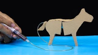 How to make a horse from cardboard