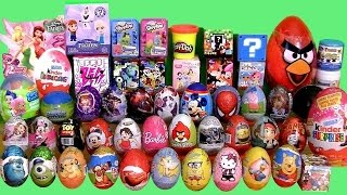 55 SURPRISE EGGS Huge Collection