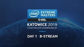 LIVE: IEM Katowice 2019 Challenger Stage - B Stream