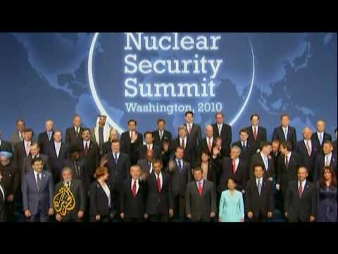 World leaders pledge to act against 'nuclear terrorism'