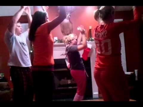 Crump Family Grooving to Michael Jackson