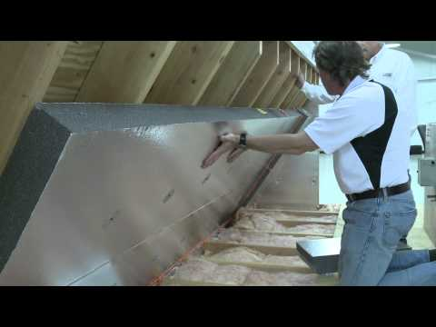 Installing a Radiant Barrier in the Attic   Alternative Method to Insulate the Attic