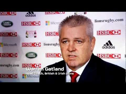 TOTAL RUGBY AUDIO: Warren Gatland on 2013 Lions Rugby Tour to Australia