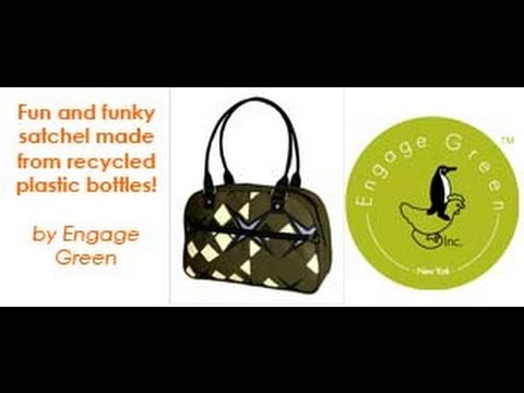 Large Carry Bag | Engage Green Satchel