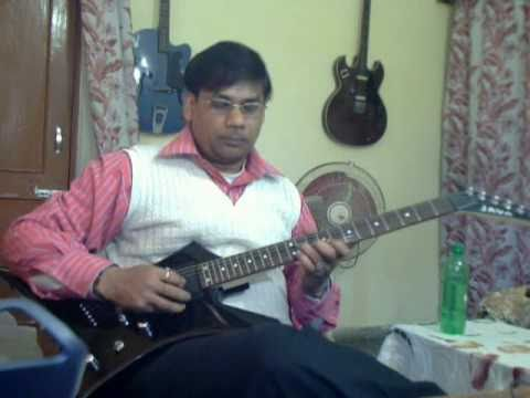 Ek ladki bhigi bhagi si on Guitar