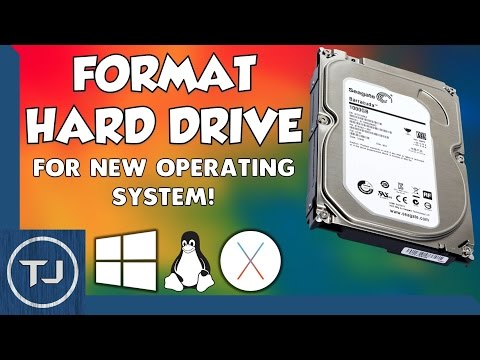 Format Hard Drive For Any Operating System (NTFS) 2017 Tutorial!