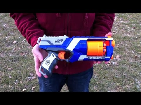 Nerf N-Strike Elite Strongarm - Range Test (Stock)