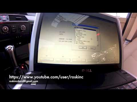 BMW E60 5 series How to code AUX in Idrive ncs expert step by step