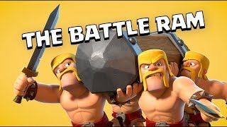 BATTLE RAM vs KING & QUEEN!! Clash of Clans New Update Hero Challenge!