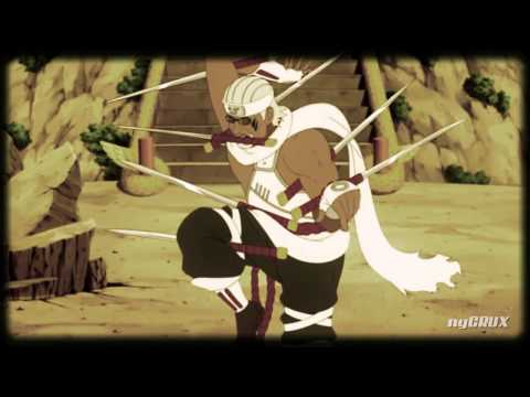 [naruto Amv] ~ Sting Like A Hachibi! ~ [sasuke Vs Killer Bee] video