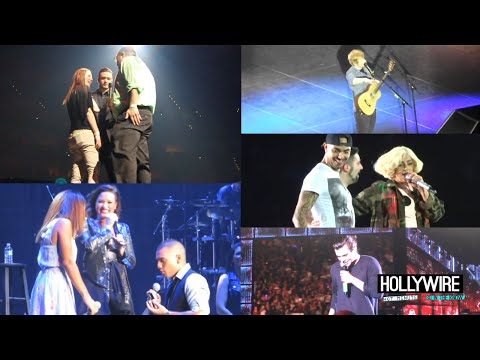 Top 5 Celebrity Concert Proposals! (One Direction, Ed Sheeran + More)