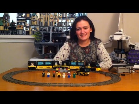 LEGO 4559 City Trains Cargo Railway Review