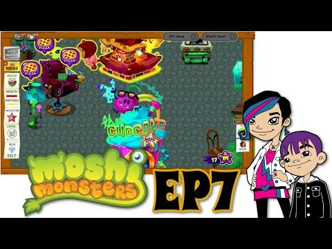 Moshi Monsters Game Play with Audrey EP7